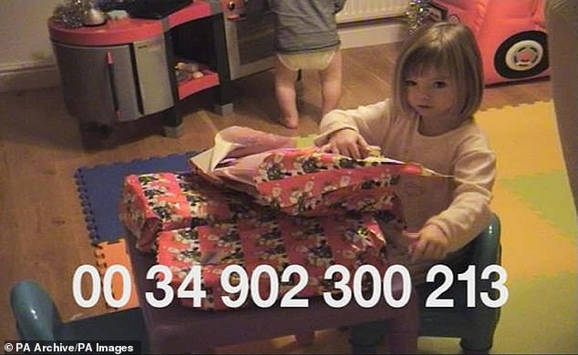 Christmas video made by Gerry and Kate McCann making appeal for the return of Madeleine