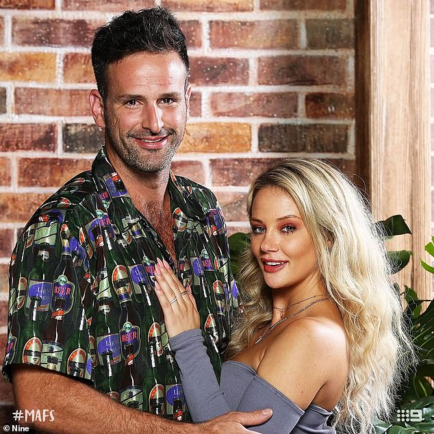 Bad romance: Mick is currently 'married' to administrative assistant Jessika Power on MAFS