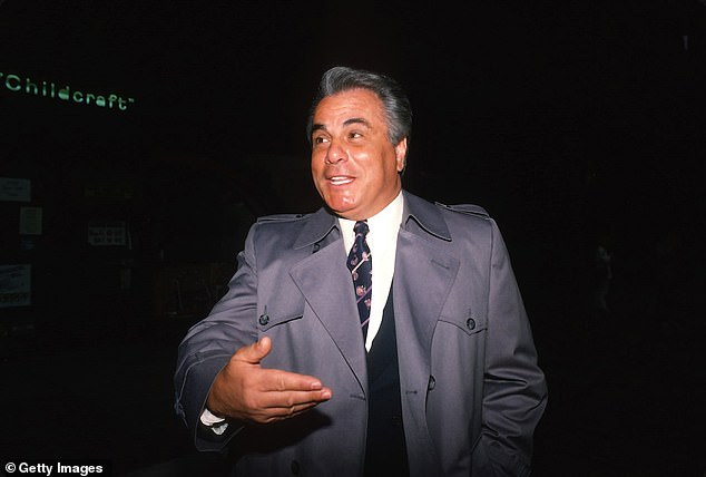 Cali kept a much lower profile than John Gotti (above) and was killed in far less spectacular fashion than Paul Castellano, who was gunned down outside a Manhattan steakhouse in 1085