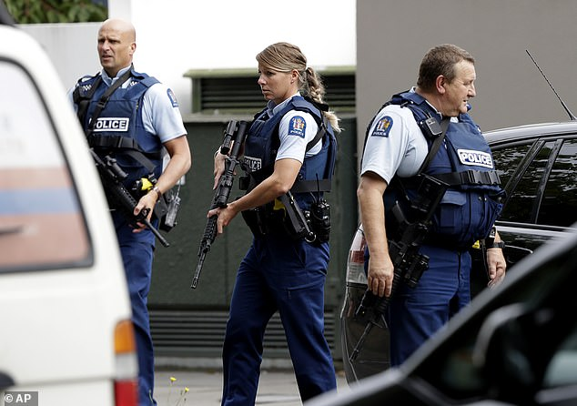 One of the gunmen live-streamed the mass shooting inside the Al Noor Mosque, which happened at 1.30pm local time as Friday prayers were underway