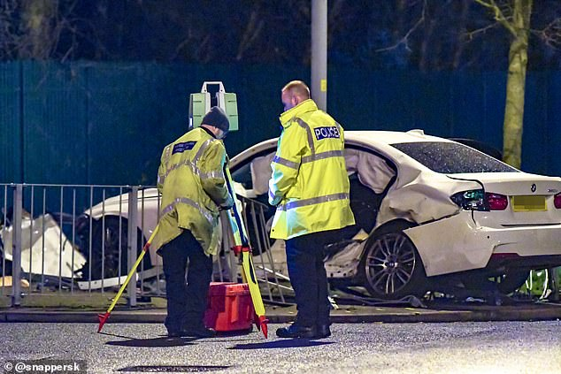 The road was shut for six hours while officers investigated the major crash in Wolverhampton