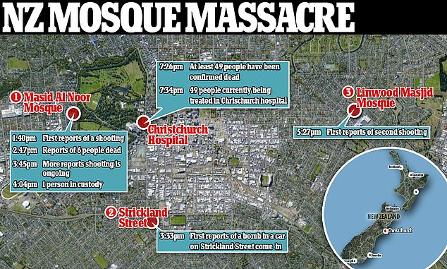 The 49 deaths at two mosques in Christchurch are the horrific consequence of hate, Muslims Australia president Rateb Jneid said on Friday