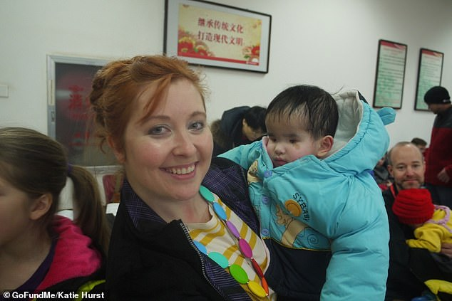 Evie was adopted by Katie Hurst from China when she was four years old, severely malnourished and with no medical history