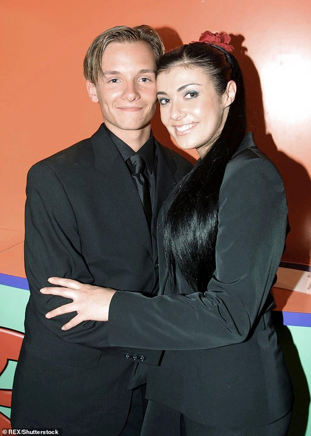 Happy couple: Jack was also famously married to Coronation Street actress Kym Marsh from 2002 to 2009
