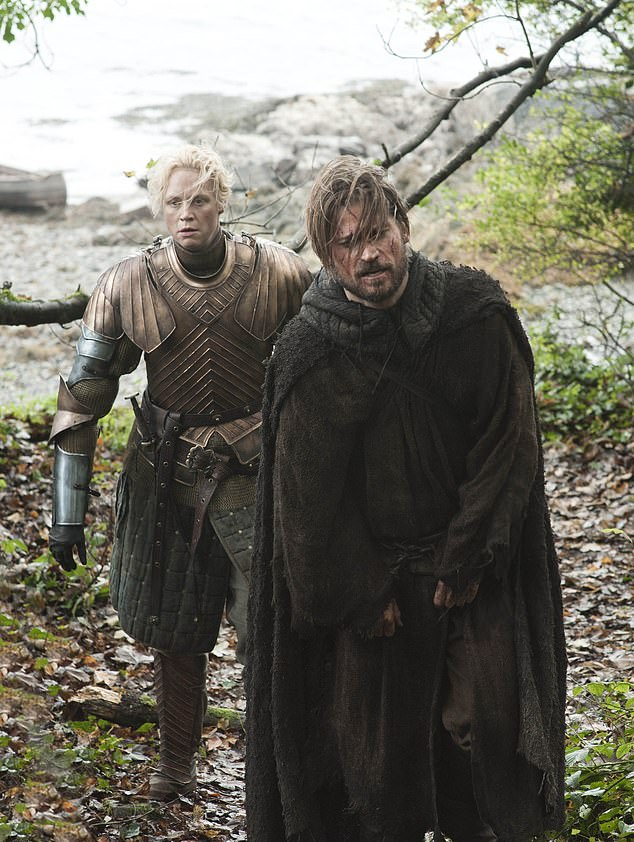 They have history:At the time when they were sworn enemies, she was offering him up to the Lannisters in exchange for the Stark girls on behalf of their mother Lady Catelyn