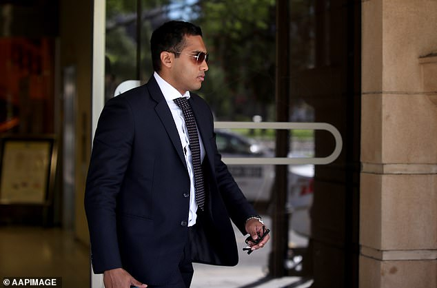 Last year, Abdul Kajani and Ethan Quadros (pictured) received suspended sentences after Quadros paid Dimachki a bribe for Kajani's certificate