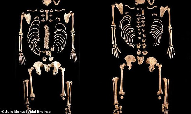 """Some of the finds that archaeologists found in the Iberian Peninsula. Mesolithic hunters and gatherers found themselves as brothers. The same shift in genetic material was not observed for women who remained relatively """"local."""""""