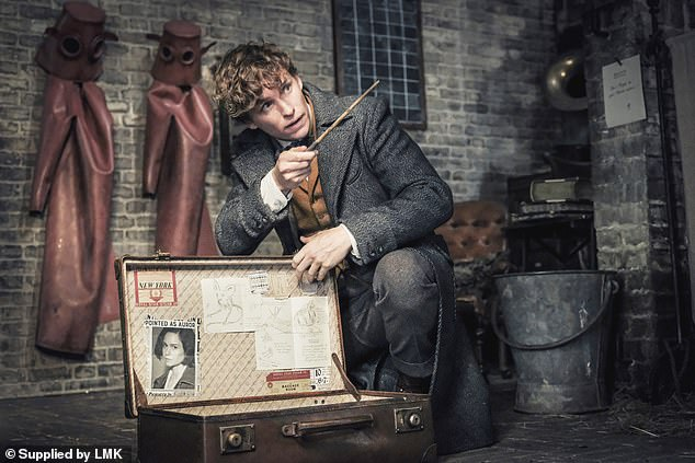 Back again: Eddie Redmayne is set to reprise his role asNewt Scamander in the third installment of the Fantastic Beast franchise