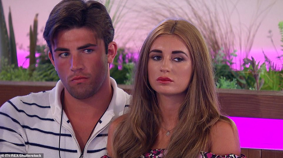 Awkward: Love Island's queen Dani didn't hesitate when Zoe probed the EastEnders actor's daughter over which moment she was more proud of