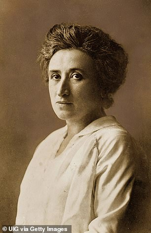 Rosa Luxemburg, a Polish revolutionary leader, was the youngest of five