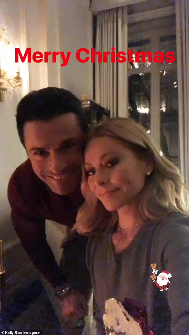 Happy couple: Ripa and Consuelos first met on the set of the soap opera All My Children in 1995, where they played love interests on screen and ultimately fell for each other
