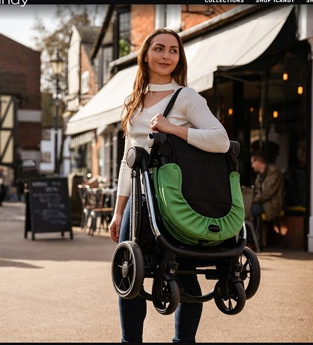 The company, which sells pushchairs for up to £1,500,have proved popular because they are easy to fold up and carry but are a far cry from the traditional Silver Cross prams used by Kate and William