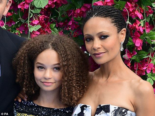Nico Parker, the 14-year-old daughter of British actress Thandie Newton and director Oliver Parker, makes her acting debut playing Milly Farrier