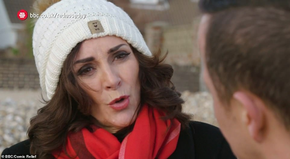Heartfelt:Aside from the awkwardness, Shirley Ballas ¿ who completed the Mount Kilimanjaro trek with Dani ¿ recalled the moment her brother took his own life in December 2003 in a touching sequence