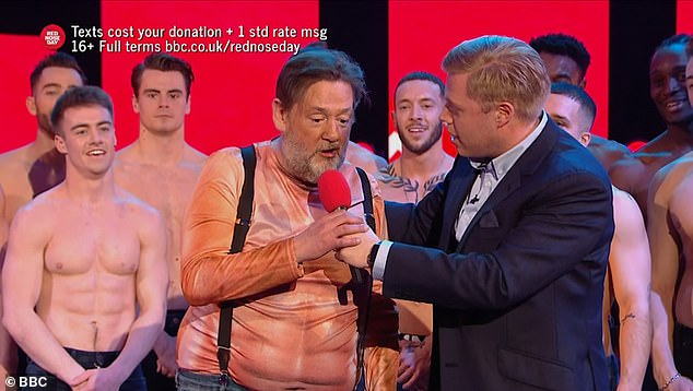 Cahnge:Johnny, who has lost four stone, previously told how some of his weight loss was a result of his father Laurence Pennington passing away last year after a battle with cancer