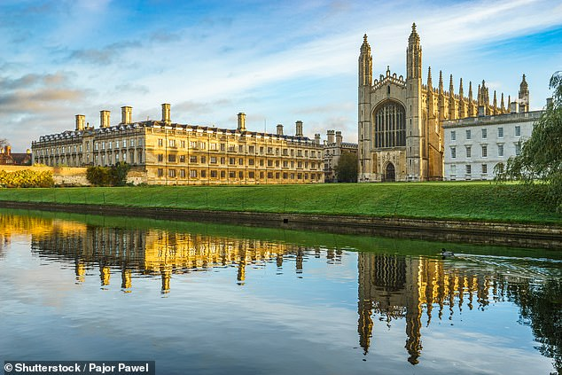 Private school head teachers have suggested that the desire to recruit a wider pool of students has made wealthy parents anxious. Cambridge University's Clare and King's College is pictured above [File photo]