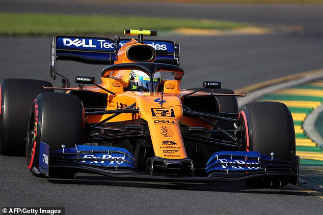 Lando Norris made a highly promising start to his F1 career by claiming eight on the grid