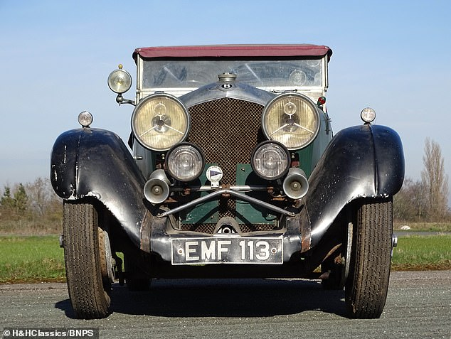 AuctioneersH&H Classics of Cheshire have described the four-seater car as 'unique'