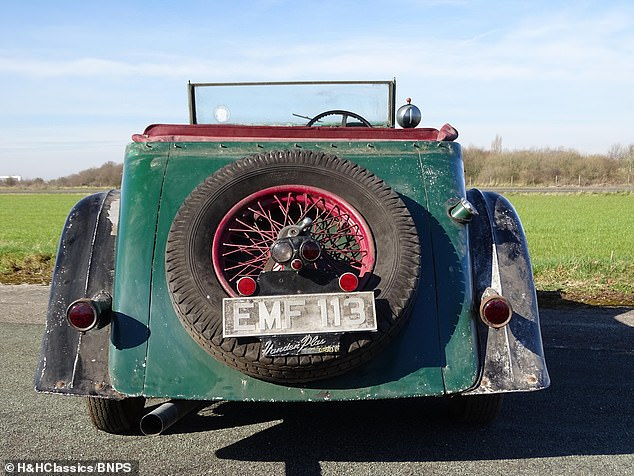 Despite being made from old stock parts, the cars had their bodywork made by high-end coach builders Vanden Plas