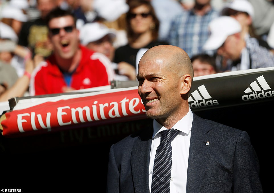 Zidane said the offer to 'come home' was too good to turn down on Monday as he signed a contract until the summer of 2022