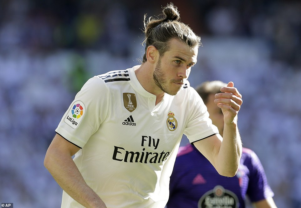 Zidane recalled Bale to the starting line-up in his first match back in charge of Real Madrid on Saturday afternoon