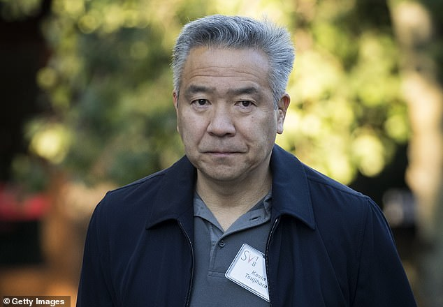 Kevin Tsujihara (pictured) apologized to WarnerMedia staff on Friday after his alleged affair with British actress Charlotte Kirk was exposed