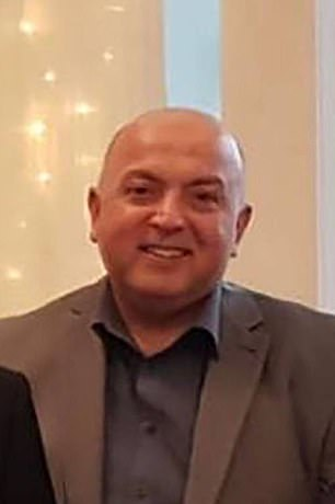 Cardiologist Amjad Hamid (pictured) was mowed down after moving to New Zealand 23 years ago because he wanted a better future for himself and his wife