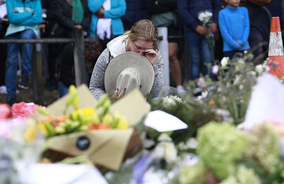 Mourners have gathered to pay their respects following the tragic shooting on Friday.The attack was broadcast in horrifying, live video which showed the suspect wielding at least two rifles. It followed the publication of a 73-page manifesto in which Tarrant laid out his racist, anti-immigrant views