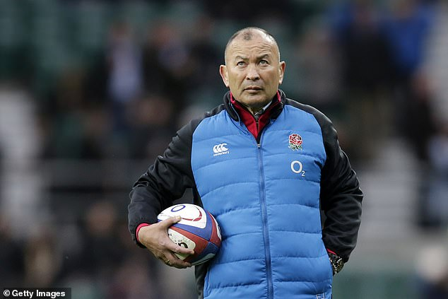 Eddie Jones tried to see an upside, saying that England 'sit fairly well' after the Six Nations