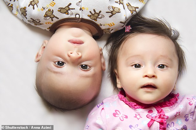 Developing in a womb shared with a male may mean that testosterone exposure leads female fraternal twins to be less fertile, earn less and be more at risk of dropping out of school