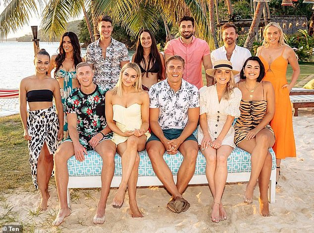 Incoming: The Mango Bay Resort was used for the filming of season one of the hit series and is the setting for series two, set to air on Channel Ten in 2019 (The season two cast are pictured)