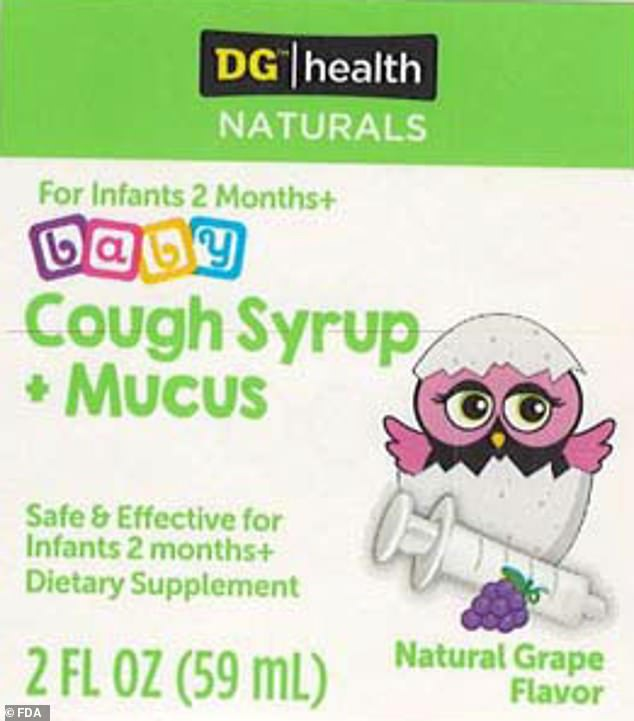 A shipment of Dollar General store's DG/health NATURALS baby Cough Syrup + Mucus has been recalled after tests revealed some bottles were contaminated with Bacillus bacteria