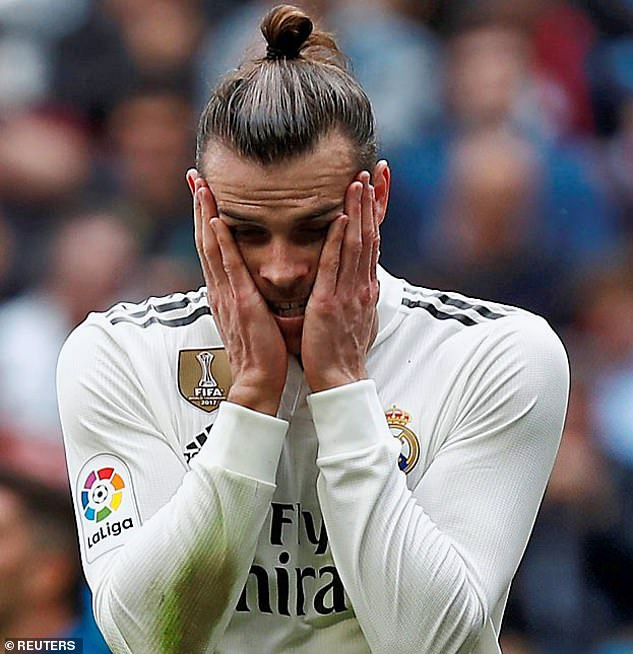 Bale's position at Real Madrid continues to be uncertain following Zinedine Zidane's return