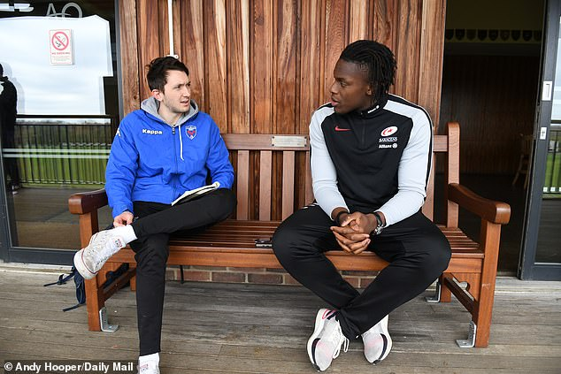 Itoje spoke to Sportsmail's Daniel Matthews ahead of Saracens' clash with Harlequins