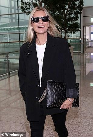 Rose estaba en los libros de la misma agencia de modelos que descubrió a Kate Moss (en la foto)