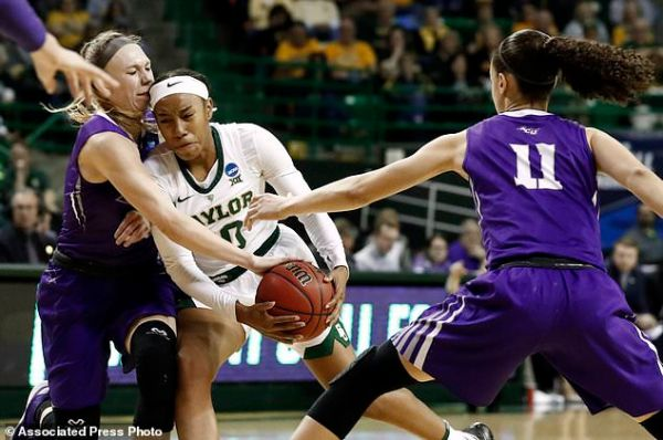 Top-seed Baylor women overwhelm NCAA 1st-timer ACU 95-38 ...