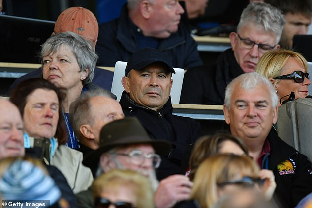 Eddie Jones made his first trip of the season to Sandy Park to watch the league leaders
