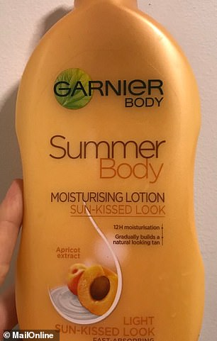 Garnier's Summer Body sun-kissed moisturising lotion promises to give you a gradual, natural-looking tan