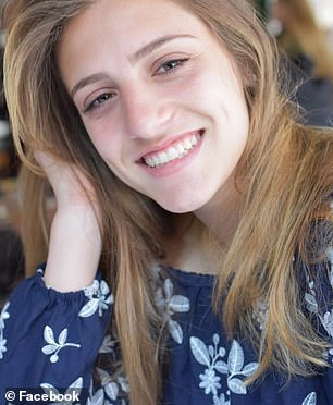 Marlee Pincus, 18 (pictured), began coughing a few weeks into her freshman year at Cornell University in Ithaca, New York, in September 2018