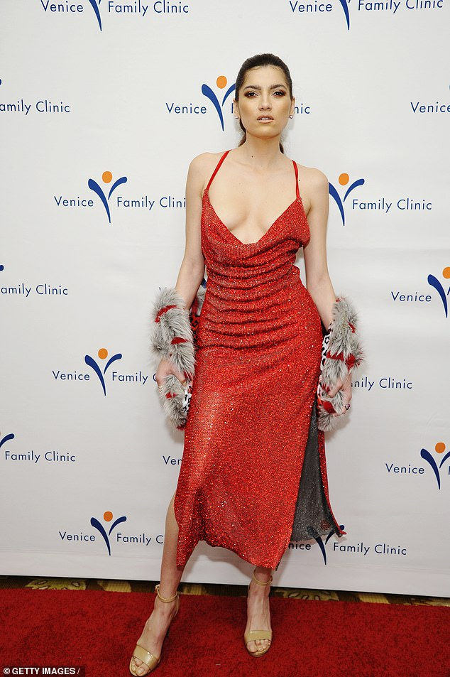 Sending temperatures soaring!Blanca Blanco looked absolutely ravishing as she put on a head-turning display at the Venice Family Clinic Hosts 37th Annual Silver Circle Gala held at theBeverly Wilshire in Los Angeles on Monday night