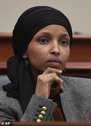 Rep. Ilhan Omar, who is one of the first Muslim women in Congress, provoked outrage last month when she suggested that supporters of Israel were urging lawmakers to have 'allegiance to a foreign country'