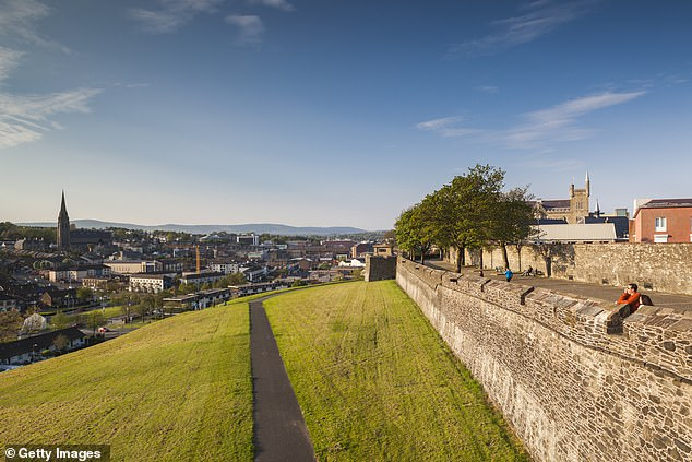 Peaceful: The surrounding walls are a great place to take in views of the city
