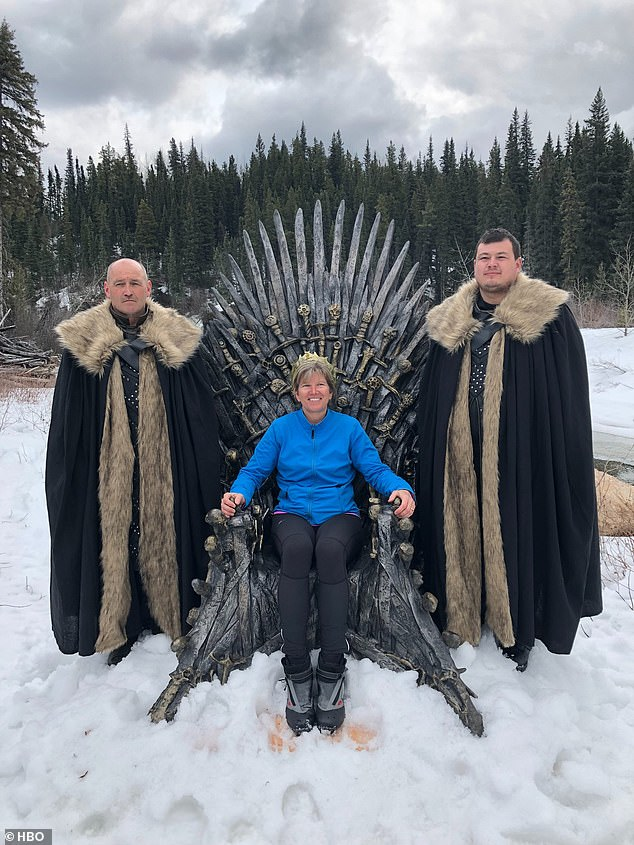 Canadian queen: 'A true queen goes anywhere #ForTheThrone, even beyond the Wall,' wrote HBO Canada. 'Birgit has staked her claim'