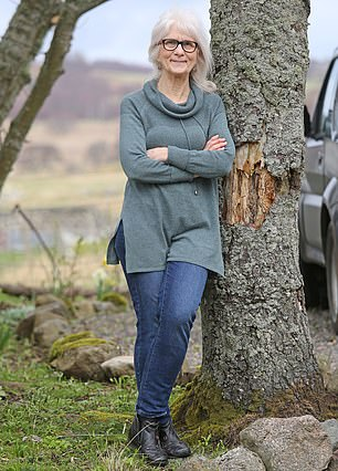 Jo Cameron (pictured) has led a virtually pain-free life due to a rare genetic mutation that affects just one in several million