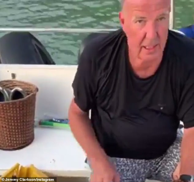 It's an emergency: Jeremy Clarkson declared a state of emergency on Thursday as he discovered a frog in his toilet