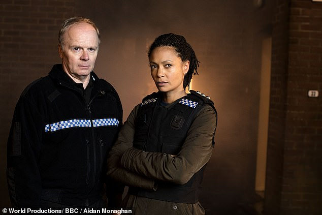 Tim Ifield played (Jason Watkins) and Detective Chief Inspector Roz Huntley (Thandie Newton)