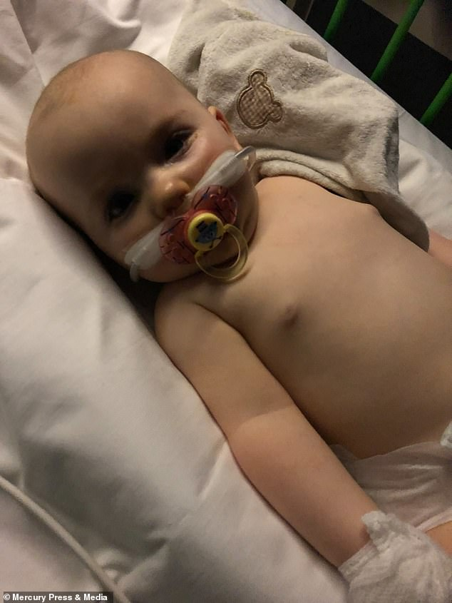 Clara was put on oxygen straight away and given cannulas for fluids. A head doctor later confirmed that Clara had pneumonia and sepsis and her condition could rapidly decline