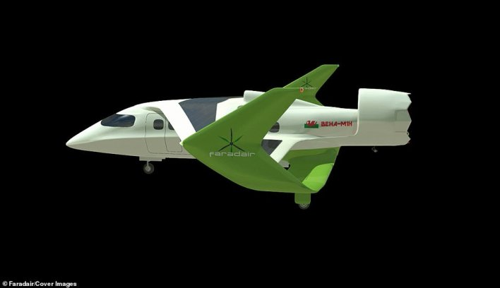 Faradair's concept plane is called Behaand builds on its previous designs which focus on allowing it to take off and land on runways less than 1,000 feet (300 meters) long