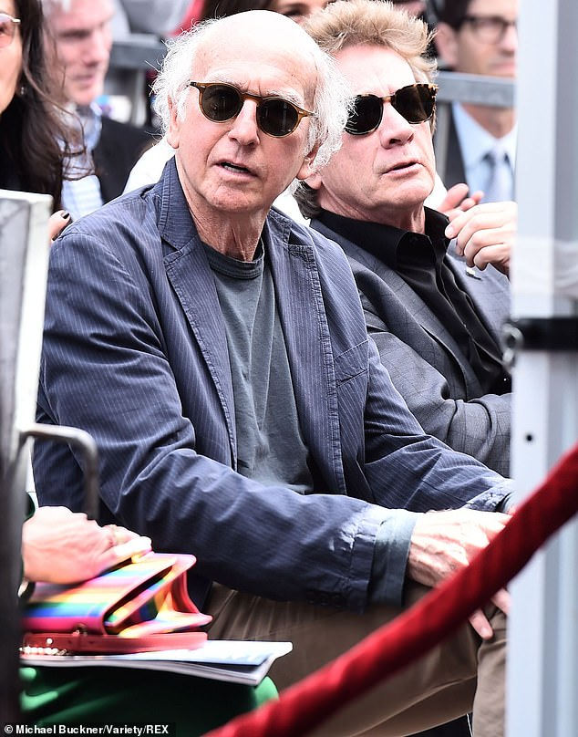 He came and wore a T-shirt: Larry David of Curb Your Enthusiasm was in the audience