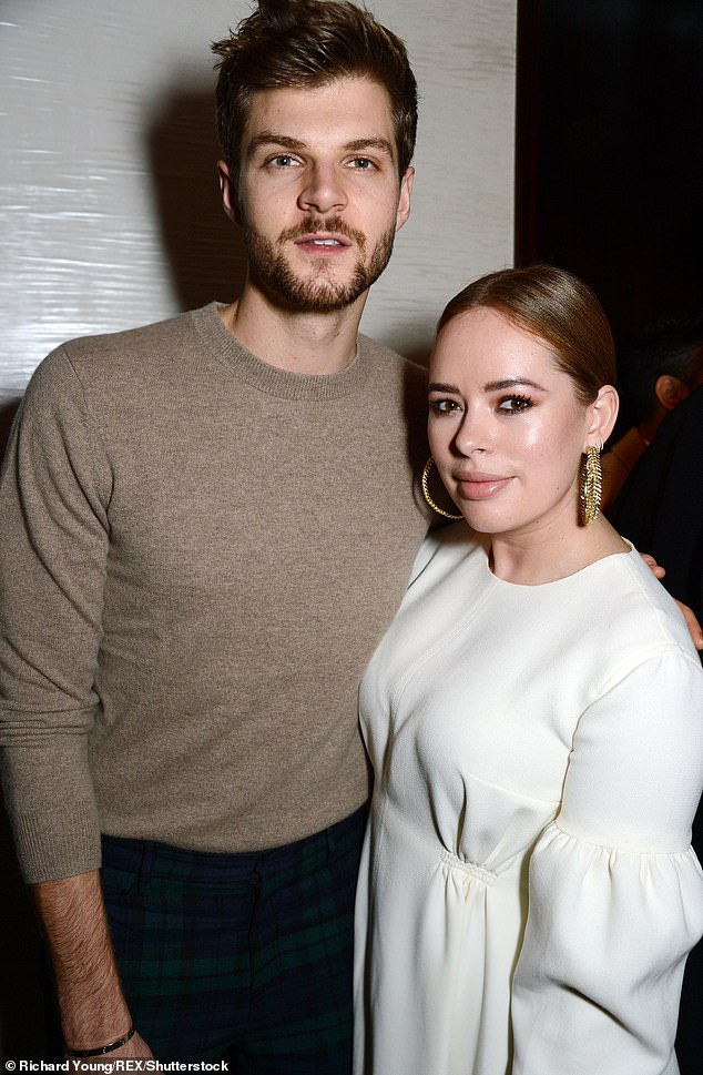 Break-up: Tanya broke her silence about the split last November, insisting that there was 'no drama' and that she and Jim were 'still best friends' [pictured in 2017]